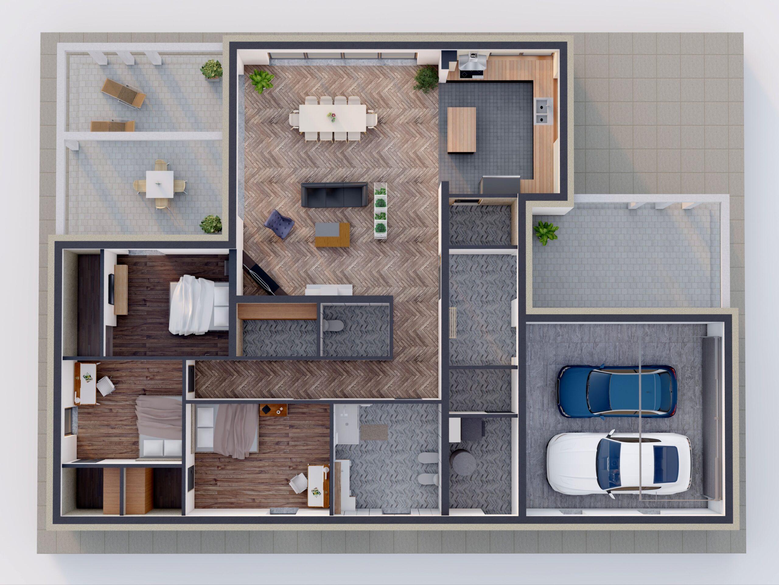 Optymalna powierzchnia domu. Jakie projekty są najchętniej wybierane?